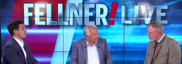 Bohr-Mena vs. Stadler, sie schenken sich nichts – bei Fellner!